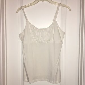 INC Tank Top w/Ruched Bust and Adjusting Straps